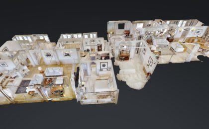 Modelo 3D Villa Aguila Playa